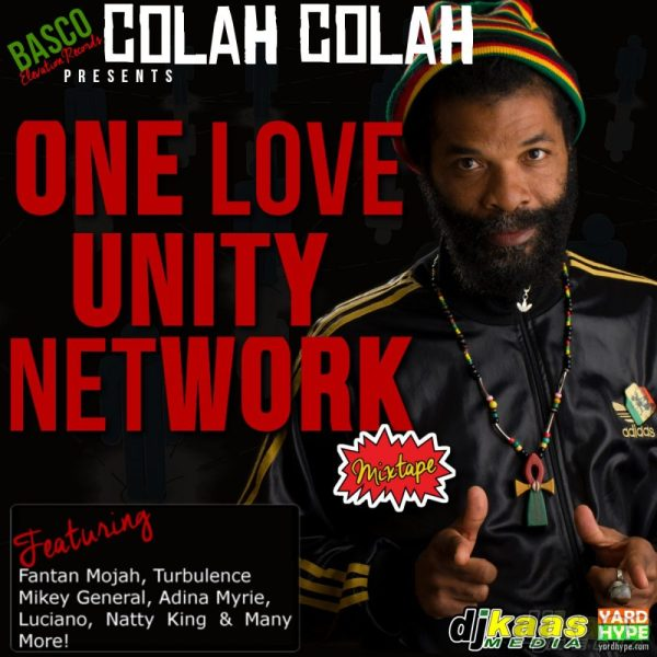 One Love Unity Network Mixtape Cover