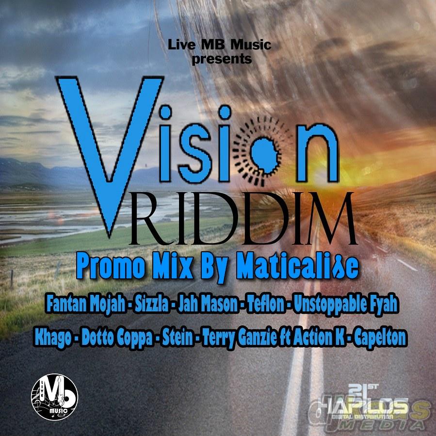 Vision Riddim Mix (Live MB Music) Dec 2014 | DJ Kaas Media