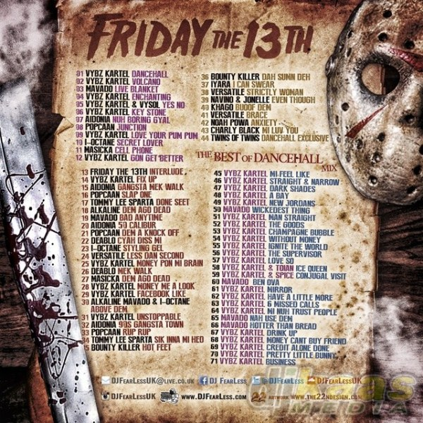 DJ FearLess - Friday The 13th - Back