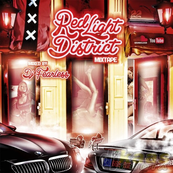 DJ FearLess - Red Light District Mixtape - Cover