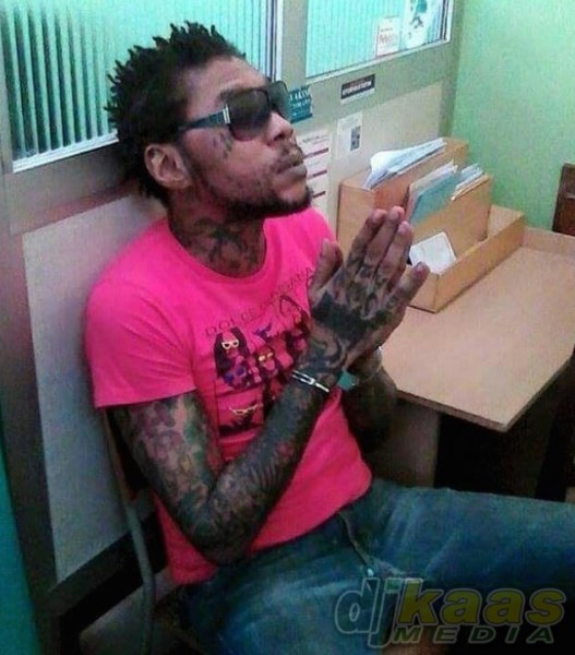Vybz Kartel during his doctor visit last week july 2015