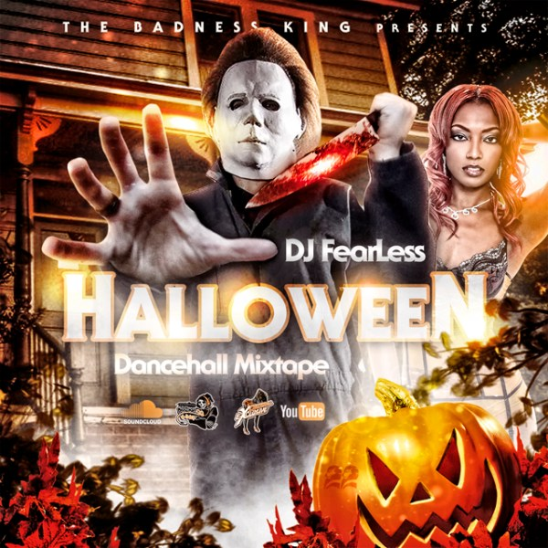 DJ FearLess - Halloween Mixtape - Cover