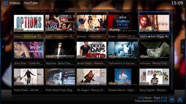 Kodi Dancehall Geniuz Screenshot