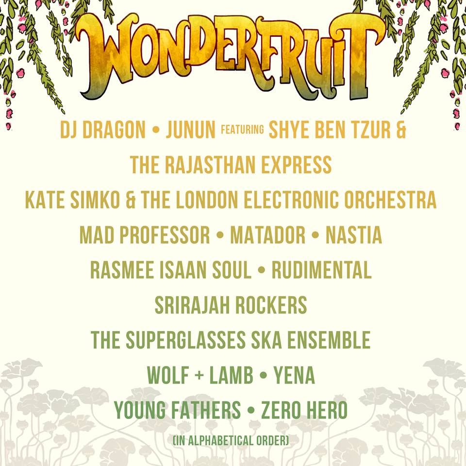 MATADOR. NASTIA & MORE ANNOUNCED FOR THAILAND'S WONDERFRUIT FESTIVAL | DJMag.com