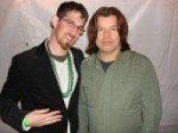 DJ Maskell and Paul Oakenfold at Shamrockfest 2008 backstage dc concerts in dc nightlife in washington dc clubs