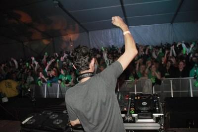 DJ Maskell at Shamrockfest 2011 at RFK Stadium
