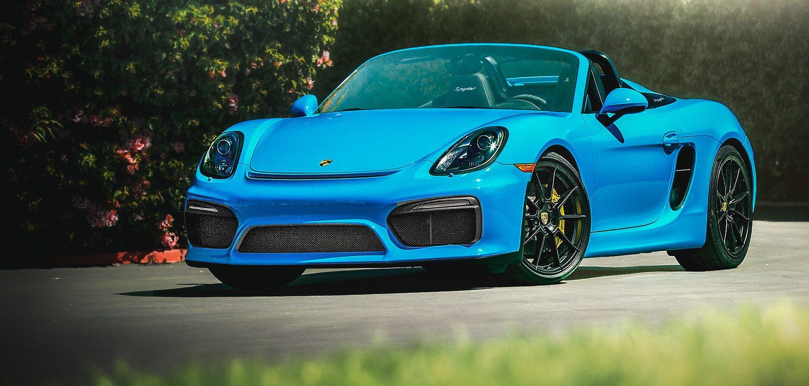 2016 Porsche Boxster Spyder  DJM Investments