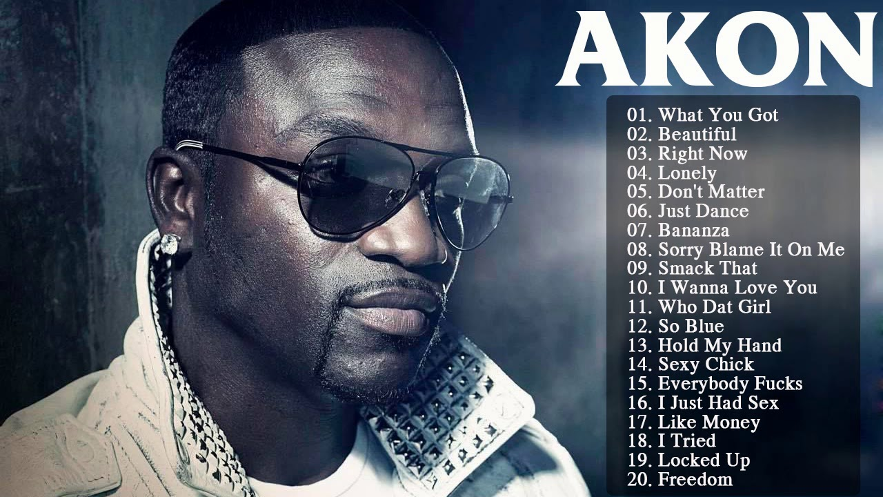 Akon dj songs list