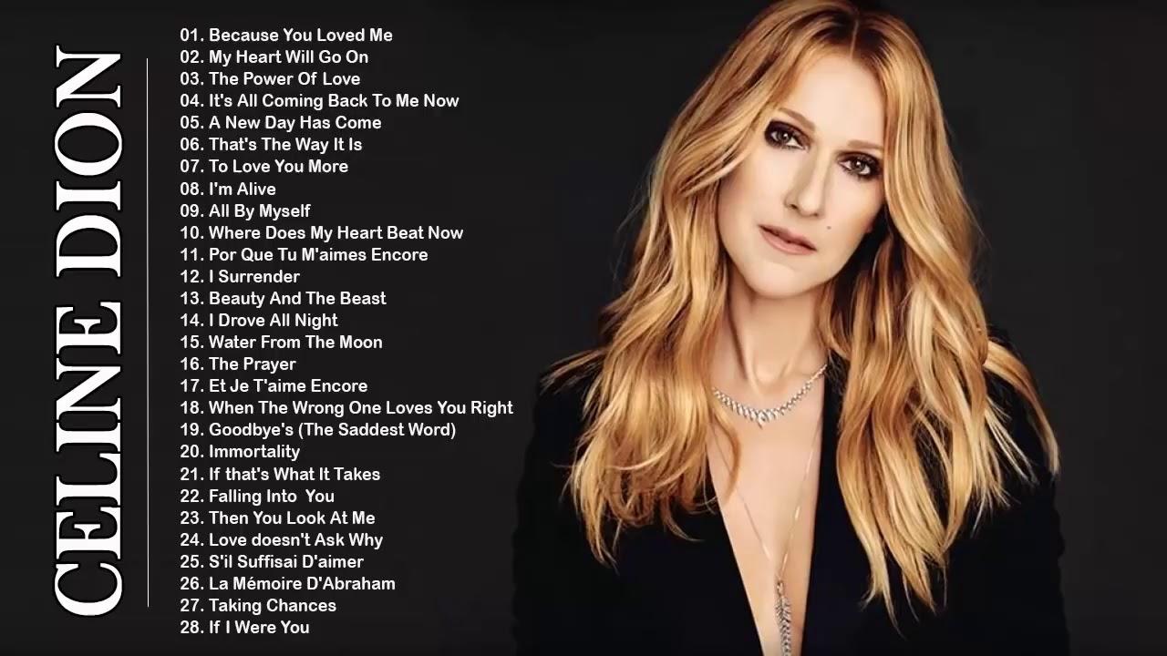 Celine Dion Music Mixtape Celine Dion Songs Age