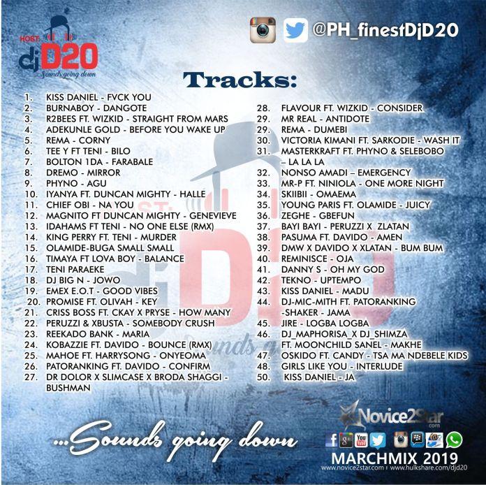DJ-D20-BLEND-DJ-MIX-MARCH