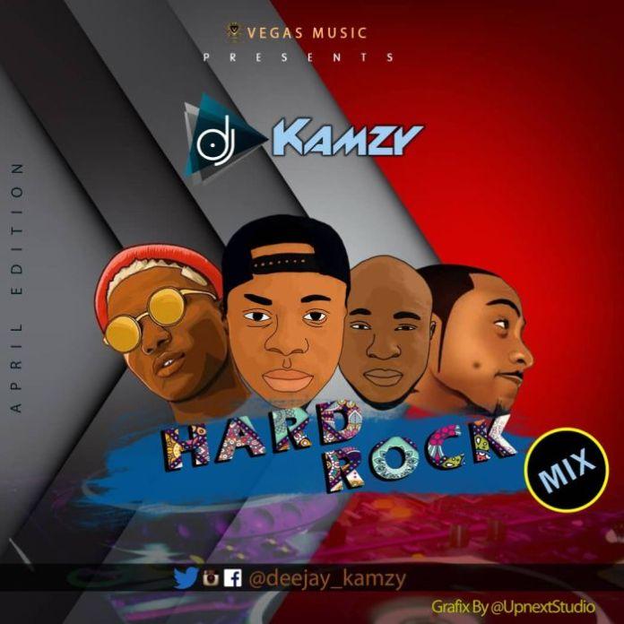 dj kamzy hard rock mix 2019 april edition
