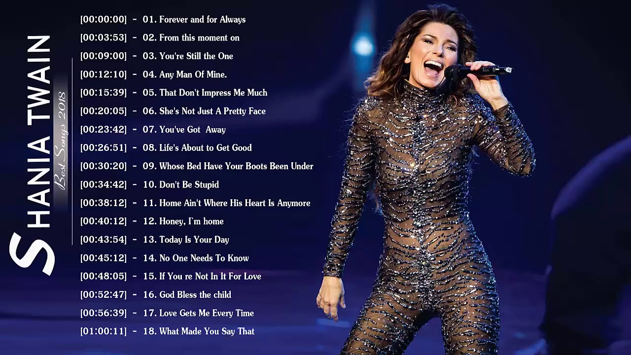Download Foreign Blues DJ Mix] Best Of Shania Twain Songs
