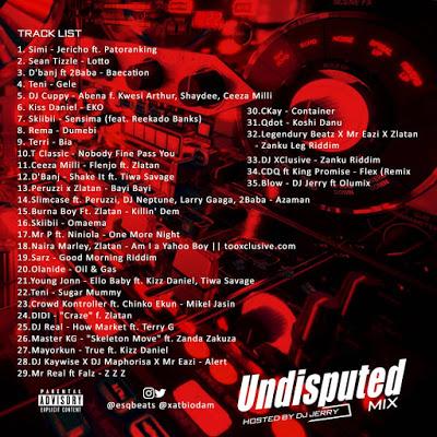 dj jerry undisputed mixtape 2019