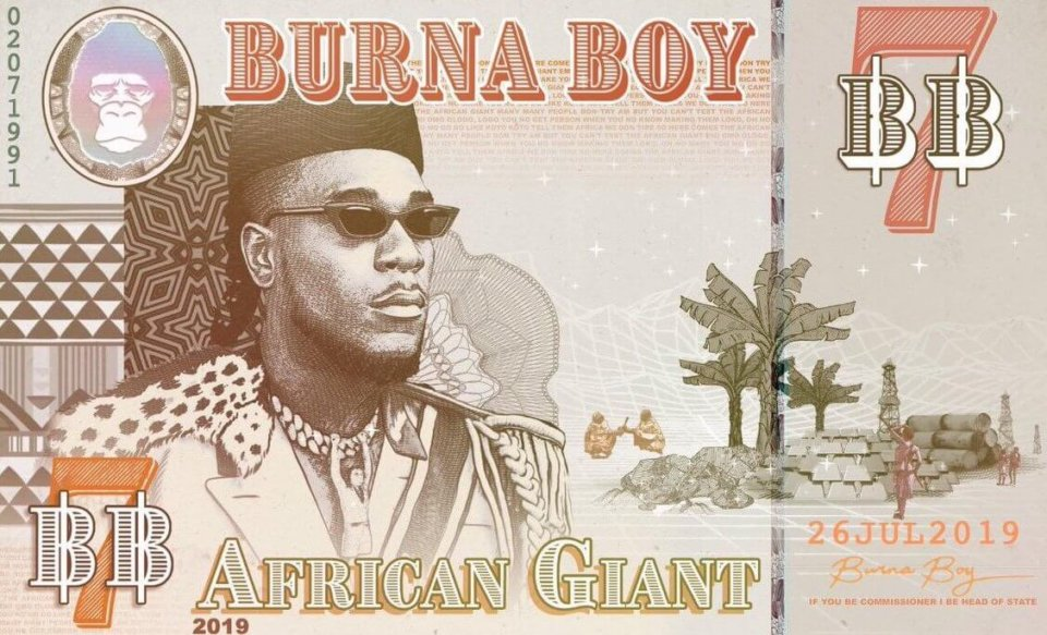 Image result for Burna Boy - African Giant