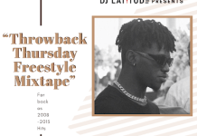 DJ Latitude ThrowBack Thursday Freestyle Mixtape