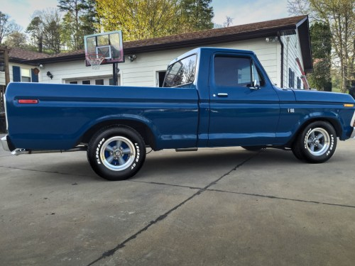 small resolution of gerald haney lowers his 78 f100