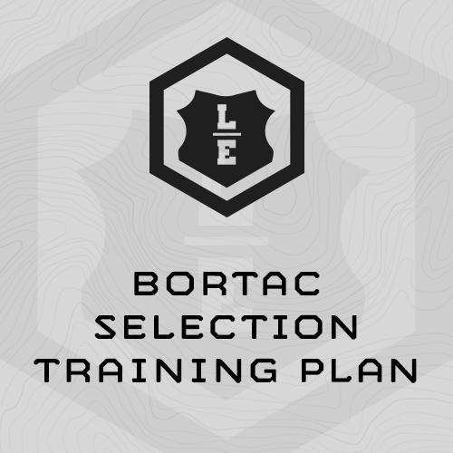 BORTAC Selection Training Program
