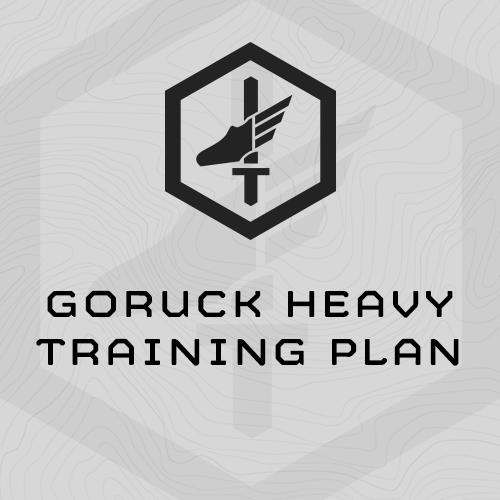 GORUCK Heavy Training Plan