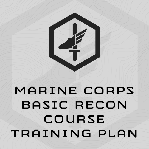 Marine Corps Basic Recon Course Training Plan