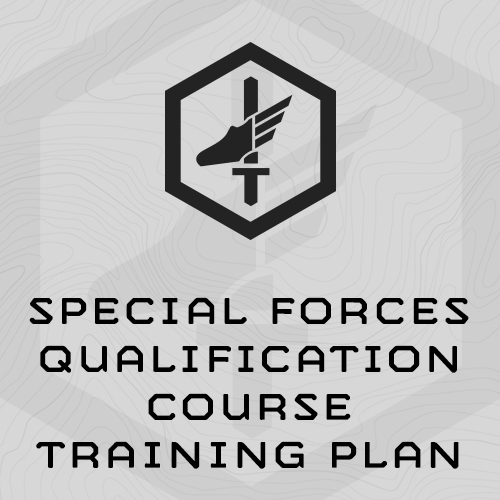 Special Forces Qualification Course Training Plan