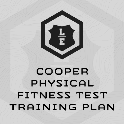Cooper Physical Fitness Test Training Paln