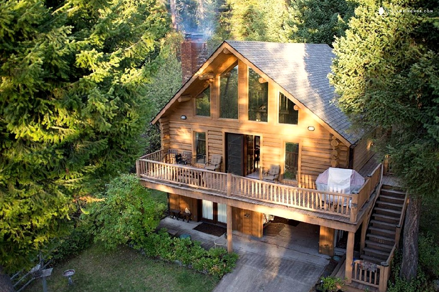 Log Cabin Rental on Flathead Lake Montana
