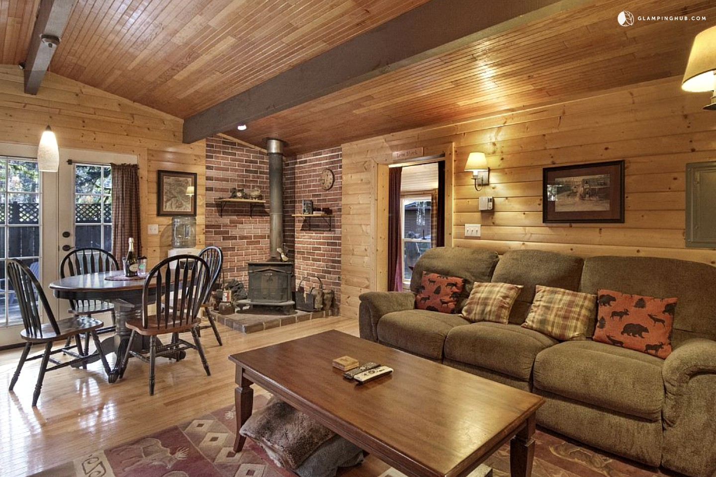 Cabin Rental near Stevens Pass Ski Area Washington