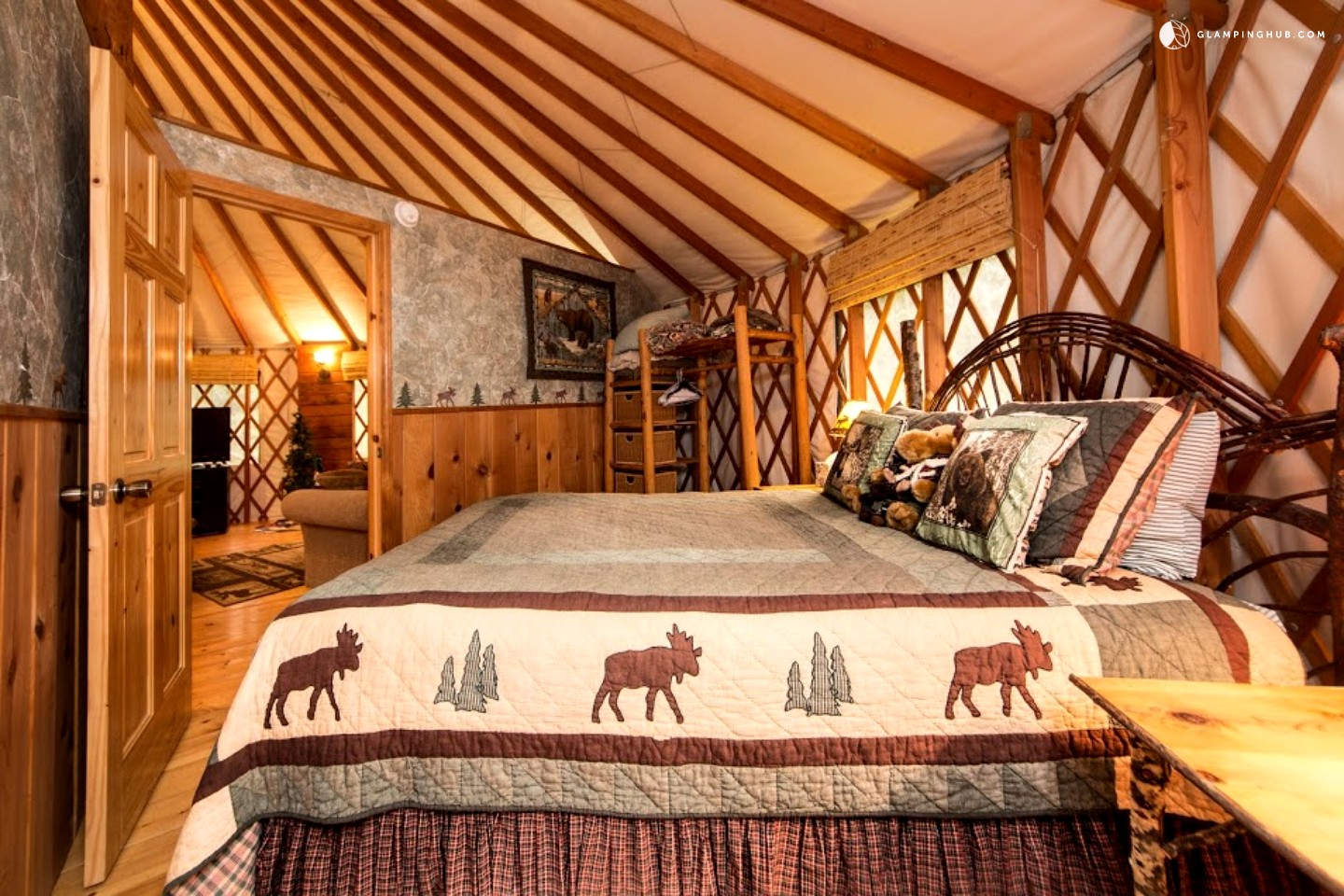 Luxury Yurt Northern California