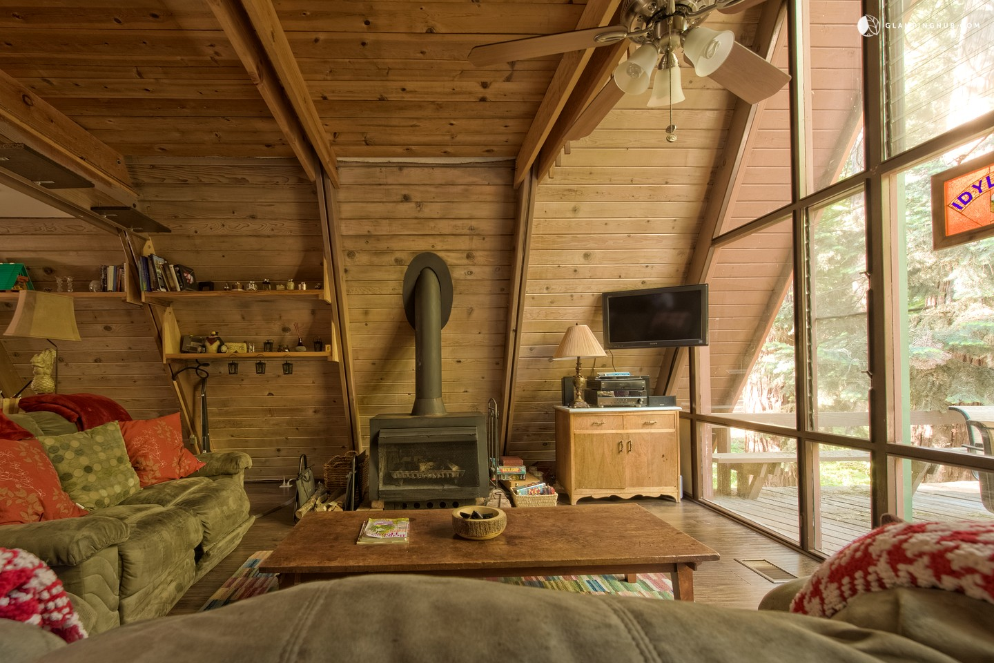 Unique AFrame Cabin in the Mountains of San Jacinto