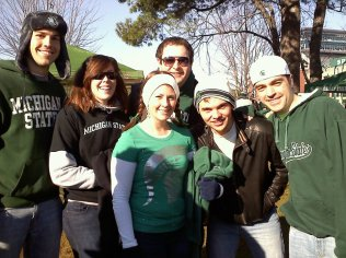 Tailgating for Michigan State Game - East Lansing, Michigan - November 2011