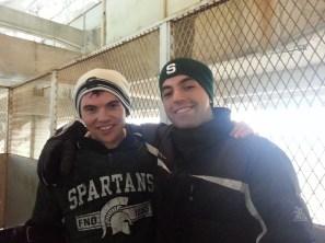 Inside Spartan Stadium - East Lansing, Michigan - November 2012
