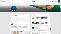 Google+ Example - Norbord Page