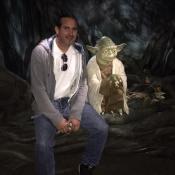 Me & Jedi Master Yoda