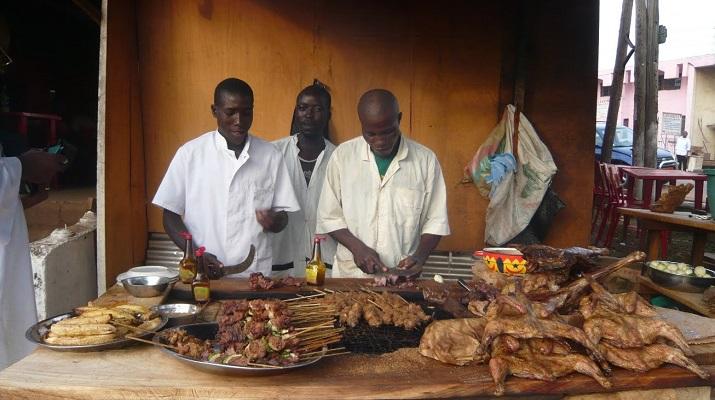 Soya, grillade de boeuf à la camerounaise