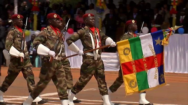 indépendance de la Centrafrique Bangui défilé Bokassa