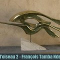 François Tamba Ndembe bronze sculpteur congo kinshasa