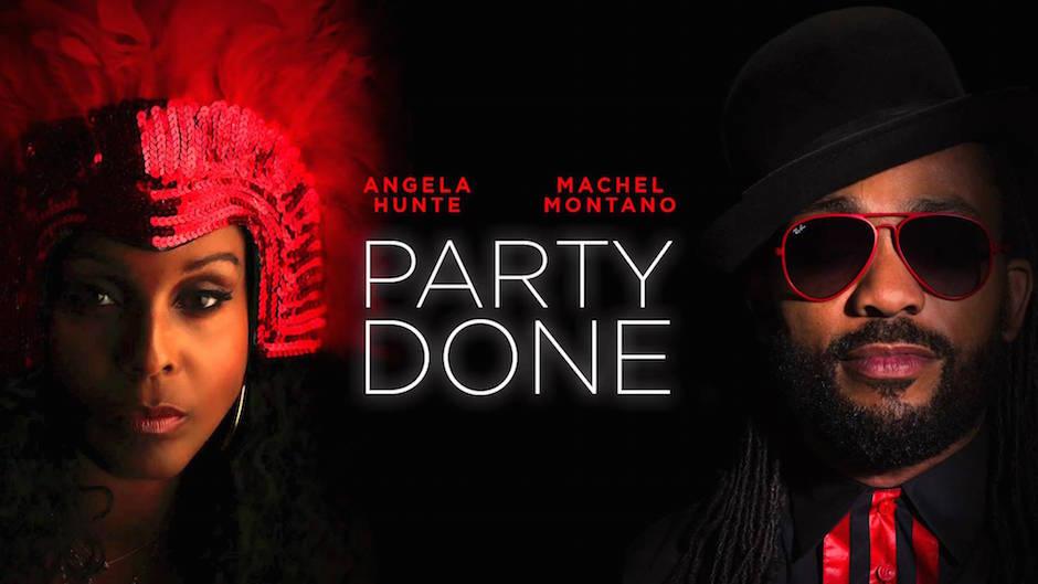 Machel Montano Angela Hunte Party Done Trinidad Soca Djolo