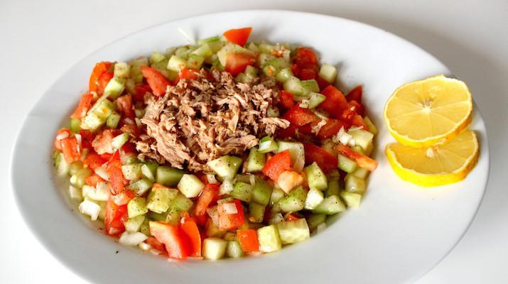 Salade tunisienne cuisine afrique du nord djolo