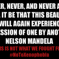 Nelson Mandela Cassper Nyovest #NoToXenophobia concert de Harare Single for the night