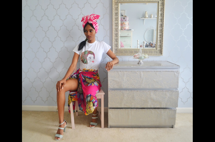 Les T-shirts printaniers de Caven Etomi djolo mode