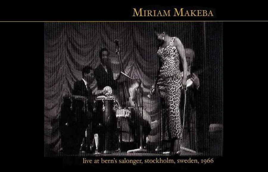 Miriam Makeba EN LIVE Berns Salonger 1966 Djolo