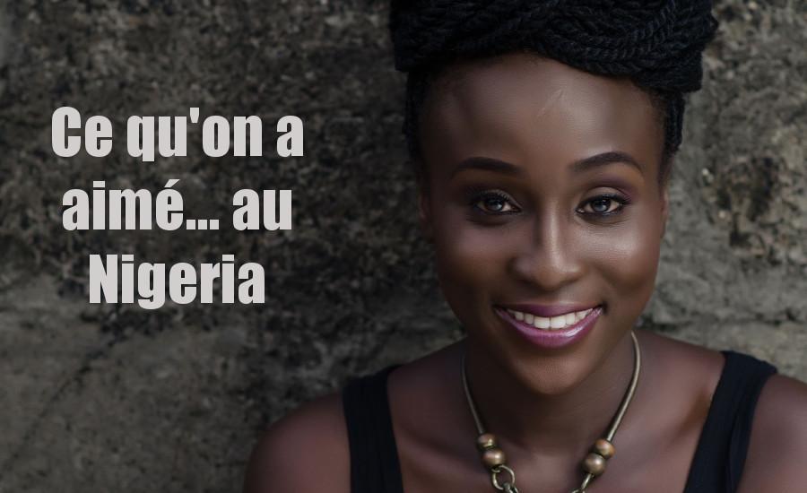 Aramide Ce qu'on a aimé au nigeria djolo