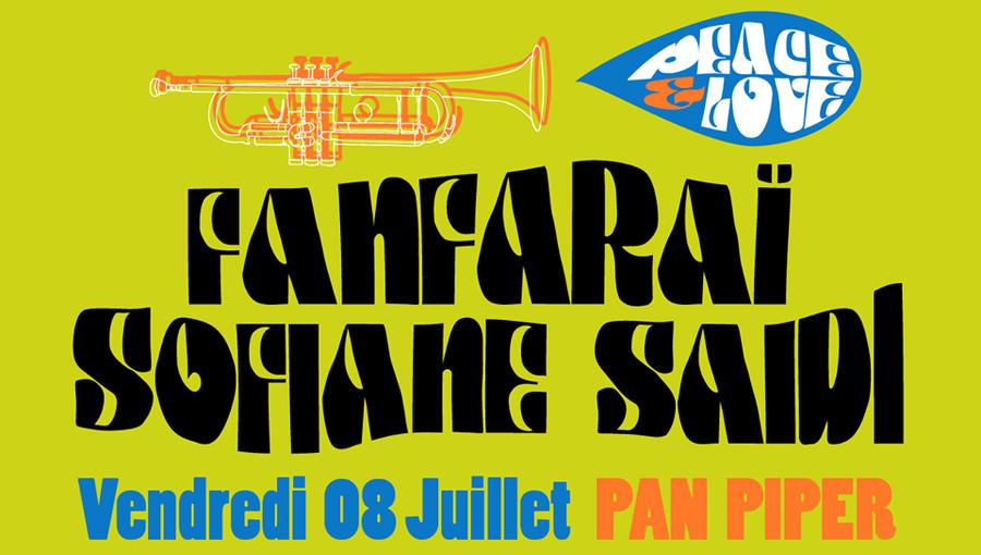 Fanfaraï Sofiane Saidi Peace &love Pan Piper