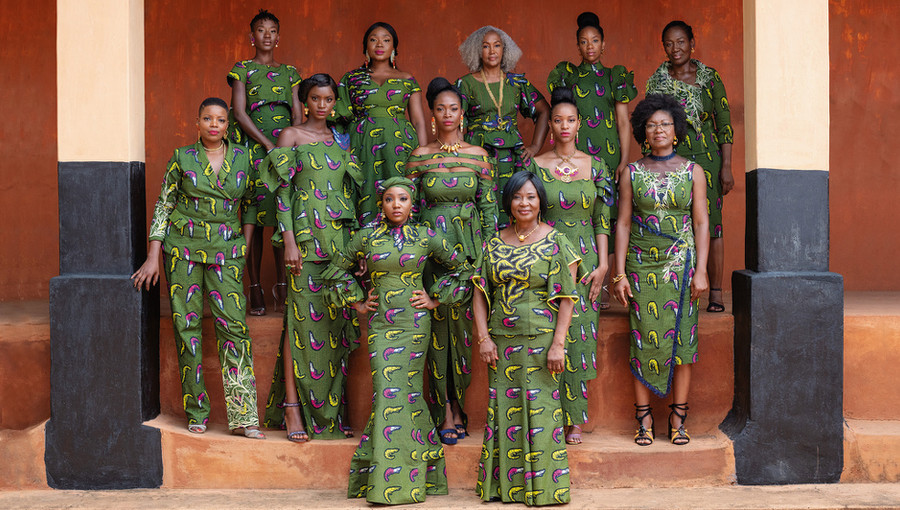 Vlisco, New Traditions, pagne, bénin