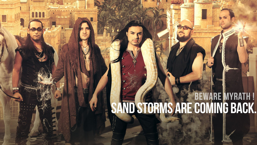 Myrath, Dance, nouveau clip, groupe tunisien, metal progressif, metal tunisien, metal arabe