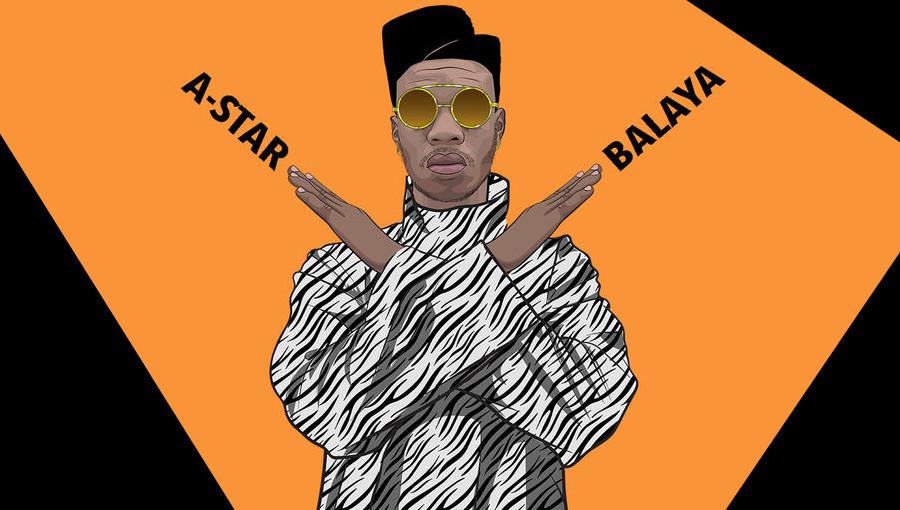 A-Star, Balaya, Blaya challenge, ghana, musique ghanéenne, hit, challenge de danse, clip tourné à Paris