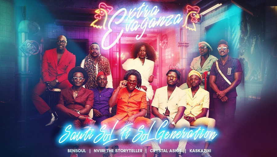 Extravaganza, Sauti Sol, Sol Generation, Bensoul, Nviiri the storyteller, Crystal Asige, Kaskazini, rumba, afrofusion, afropop