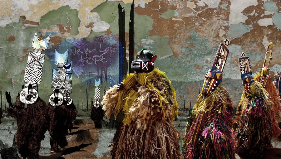 Bantou Mentale, rumba electronique, musique electronique, punk congolais, chateau rouge, boko haram, glitterbeat, nouvel album