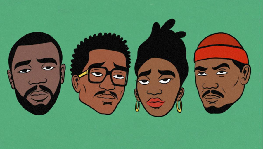 James BKS, fils de Manu Dibango, Q Tip, Little Simz, Idris Elba, 7 Wallace, hip-hop, afrique, New Breed, nouveau clip
