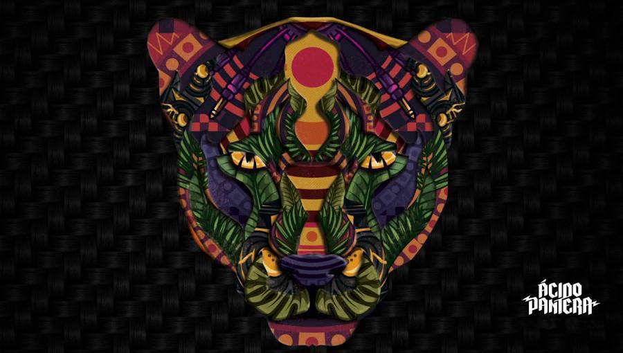 Acido Pantera, techno, cumbia, musique electronique, musique colombienne, ritual electrico, trans musicales, rennes, concert, ep, tropicale, acid